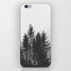 black trees iPhone & iPod Skin