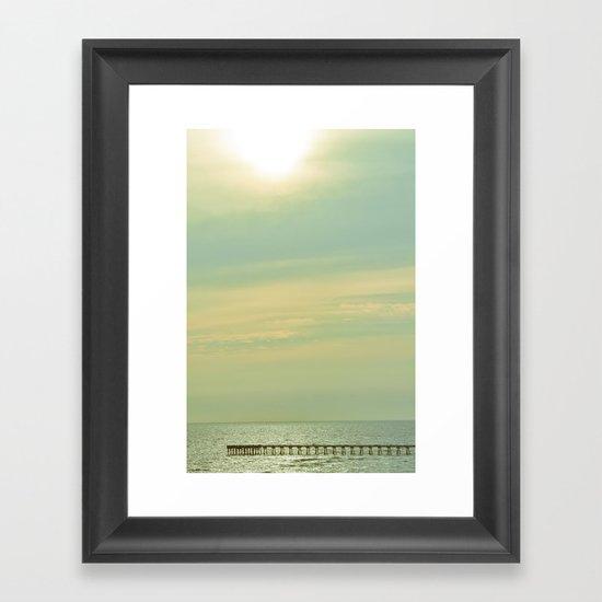 High Sky Framed Art Print