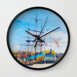 HMS Endeavour  Wall Clock