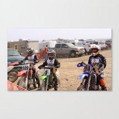 Race Ready Canvas Print