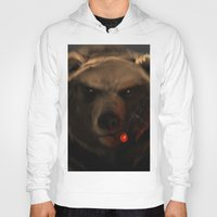 starcraft Hoodies featuring Smoking Bear by Rookzer0