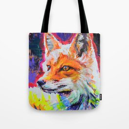 Fox Colors Tote Bag