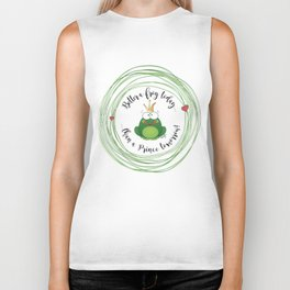 Funny Frog || Better a frog today... || Hen Party || Engagement || Funny gift Biker Tank