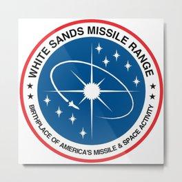 White Sands Missile Range Crest Metal Print