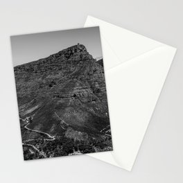 Table Mountain Panorama (Cape Town, South Africa) Stationery Cards