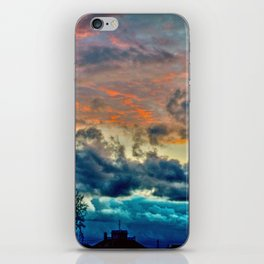 Sunset and Storm iPhone Skin