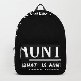 Auntitude Aunt Backpack