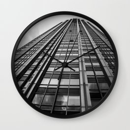 From the Ground Up Wall Clock