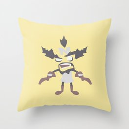 Dr Neo Cortex Throw Pillow