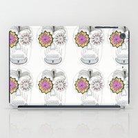 sugar skull iPad Cases featuring Sugar Skull by Rachel M Turtle