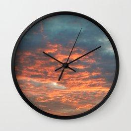 Evening Drive Home Wall Clock