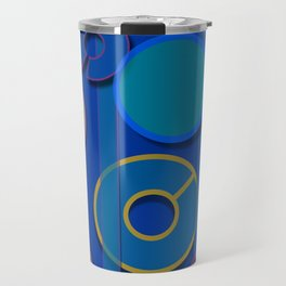 Abstract #21 Travel Mug