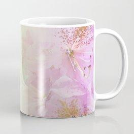 Serenity Prayer Pink Rhododendrons Coffee Mug