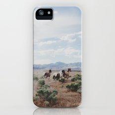 Running Horses Slim Case iPhone (5, 5s)
