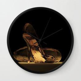 Cinderella's High Heels Wall Clock