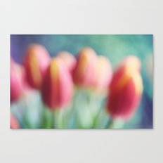 Abstract Tulips Canvas Print