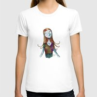 nightmare before christmas T-shirts featuring Sally - Nightmare before christmas by KanaHyde