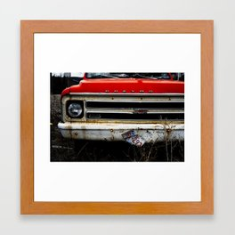 Abandon Chevy Framed Art Print