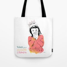 The Invisible Crown Tote Bag