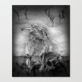 INTO DUST Canvas Print