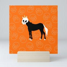 Skullhead Unicorn Mini Art Print