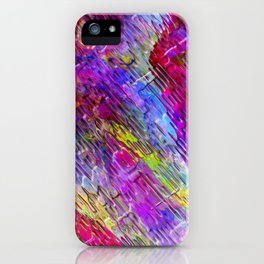 Abstract Water Lights iPhone Case