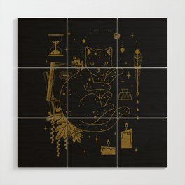 Magical Assistant Wood Wall Art