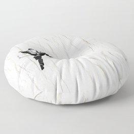 Climbing a Wrinkle Floor Pillow