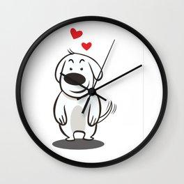 MY FUNNY DOG Wall Clock