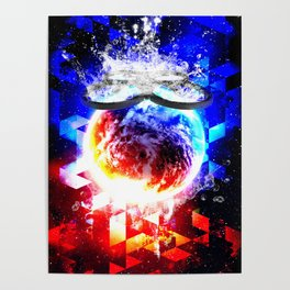 DRONED WORLD Poster
