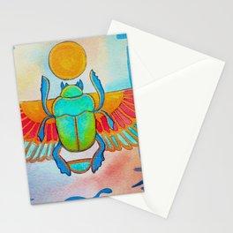 scarabeo sacro Stationery Cards