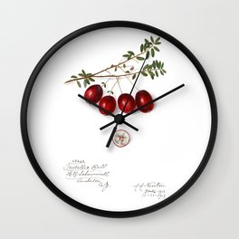 Cranberry Wall Clock
