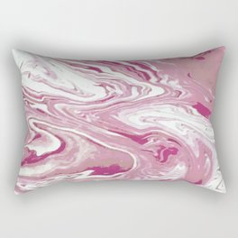 Strawberries & Creamery Rectangular Pillow
