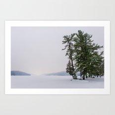 Beautiful Winter Art Print