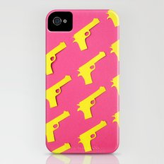 Guns Papercut iPhone (4, 4s) Slim Case
