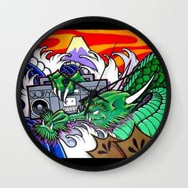 BoomBox Dragon Wall Clock