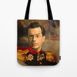 Stephen Colbert 19th Century Classical Painting Tote Bag