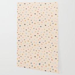 Jarmo in Cream Wallpaper