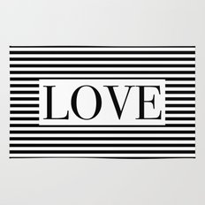 Monochromatic Love Rug