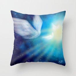 The Return Throw Pillow