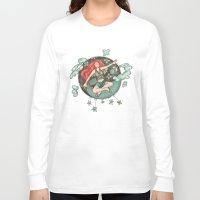 ying yang Long Sleeve T-shirts featuring Ying Yang by Catru