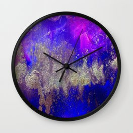 Galaxy Skyline Wall Clock