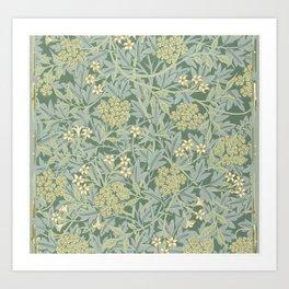 Jasmine by William Morris Art Print