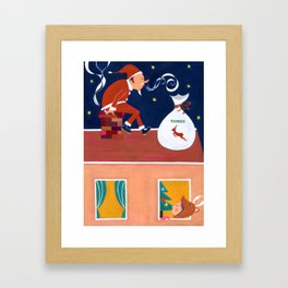 Just one more effort Framed Art Print