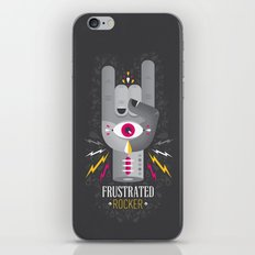 Frustrated Rocker iPhone & iPod Skin