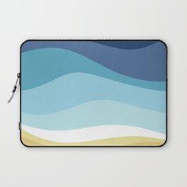 Blue Ocean Waves ! Laptop Sleeve