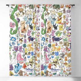 Monsters Character Blackout Curtain