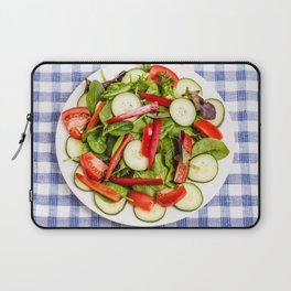 Green Salad with Red Pepper Laptop Sleeve