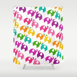 Happy Ellie Shower Curtain
