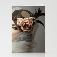 hat Stationery Cards featuring hat by Cunene